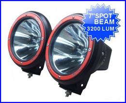 "$enCountryForm.capitalKeyWord Canada - PAIR 7"" 55W 12V HID XENON 9-32V SUV ATV DRIVING SPOT OFFROAD LIGHT 4WD 4X4 W BUILT IN BALLASTS 6000K"
