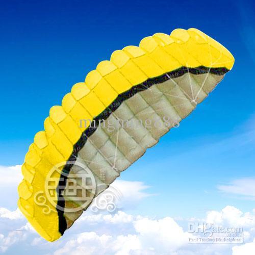 Envio Grátis ! ! venda quente 250 cm2 Linha conluio Parafoil PODER Desporto Kite + Quatro -cor opcional