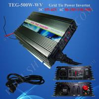 Wholesale Grid Tie Micro - Free Shipping 500w micro Grid Tie Solar Power Inverter, DC 15V~60V to AC 220V