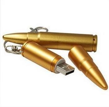 Véritable clé USB 4 Go 8 Go 16 Go en métal en forme de balle, clé USB 2.0