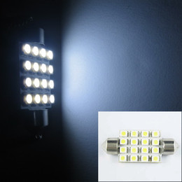 Wholesale Chinese Led Bulbs - Chinese wholesale led+100 pcs White 1210 16-LED 31mm 36mm 39mm 41mm Festoon Dome LED Light Bulbs