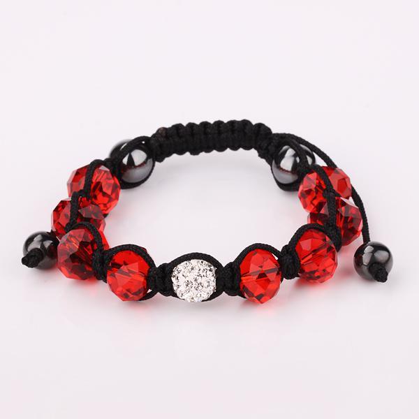 30st * 11 Färgfrihet Val 10mm Disco Ball Pave Beads Crystal Armband Smycken