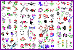 Wholesale Hot Tattoo Book Pictures - lastest new fashion Hot unit10 golden phoenix temporary AIRBRUSH TATTOO STENCIL BOOK 100 pictures