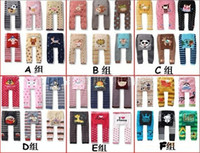 Wholesale Dandys Leggings - b2w2 children pants baby cute busha PP pants , kids leggings, 18pcs lot, dandys