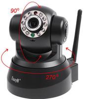 Wholesale Wireless Ir Web Camera - EasyN Wireless IP Camera webcam Web CCTV Camera Wifi Network IR NightVision