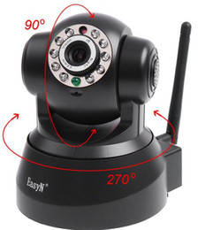 Wholesale Nightvision Ir - EasyN Wireless IP Camera webcam Web CCTV Camera Wifi Network IR NightVision