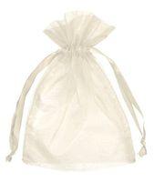 saco de presente de organza marfim venda por atacado-500 pcs 7x9 cm Marfim / Creme / Bege jóias bolsa de presente de casamento sacos de organza Do Partido Do Favor Do Casamento