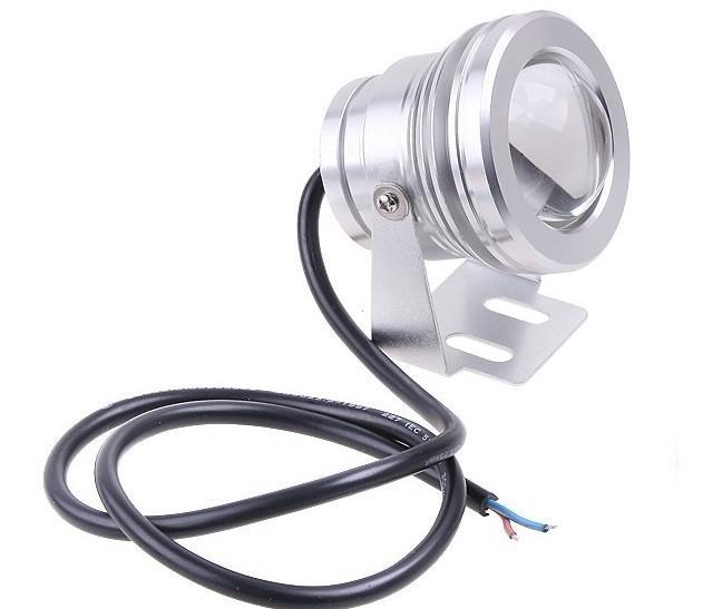 Wodoodporna podwodna 10W RGB LED Light + Pilot Lampa krajobrazowa 12 V