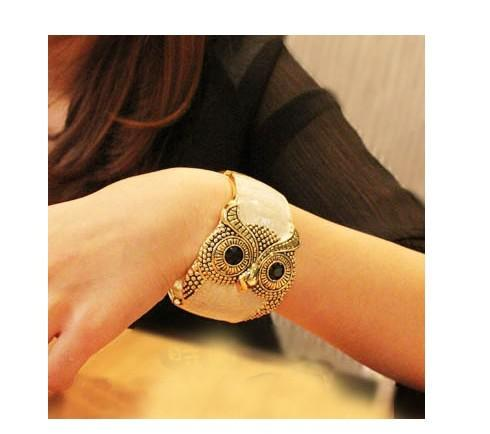 Women's Accessories Women's Jewelry Bracelets MIX build MIX To Restore Ancient Ways Drops Glaze Owl