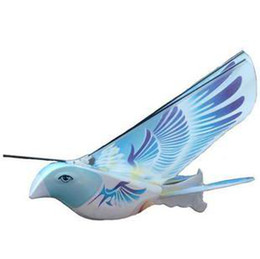 Wholesale Remote Control Helicopter Children - Newest remote control flying bird pigeon butterfly e-bird toy hobbies rc bird Helicopter children kid gift toy 4 colors