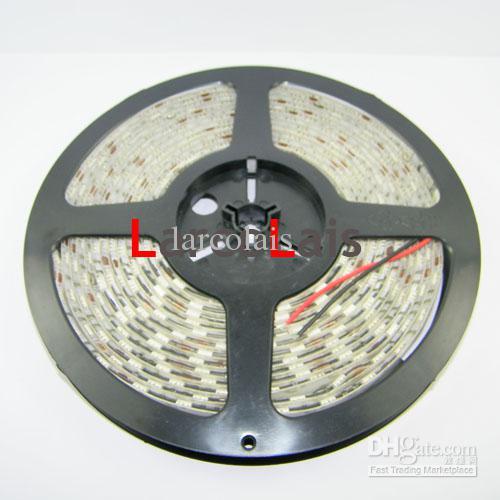 24 sztuk 5m 12 V 16FT SMD 5050 300LED Wodoodporna ciężarówka samochodowa elastyczna taśmowa światła światła 300 LED 5 m Amber