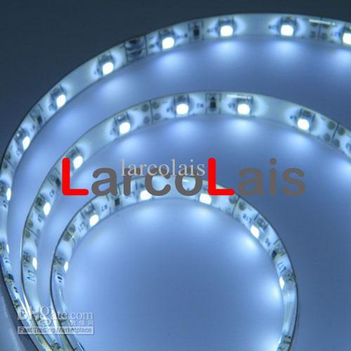 5m 16ft 3528 1210 300LED Bil Flexibla Strip Ljus 300 LED Jul Holiday Party Home Light White