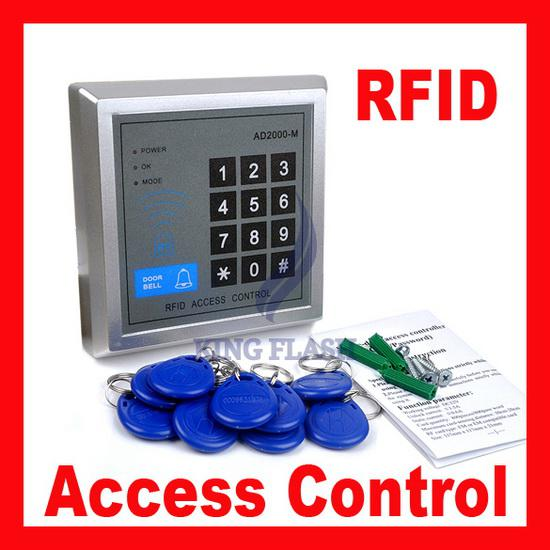 Rfid Proximity Entry Door Lock Access Control System With