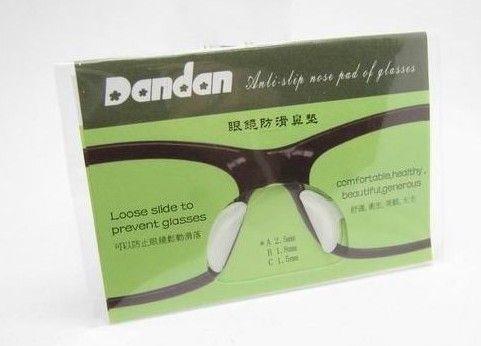 soft stick on Nose Pads Eyeglass sunglass glass glasses frame silicone eyewear good qu