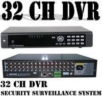 Wholesale 32 Channel Dvr Recorders - Free Shipping 32 CHANNELS cctv dvr recorder Security Surveillance ,32 ch h.264 dvr support VGA eSATA
