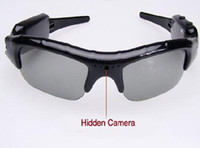 Wholesale Dv Dvr Spy Sun Glasses - DV DVR Hidden Recorder Video Camera spy Sunglasses Camera sun glasses camera Mobile Eyewear