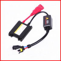 Wholesale Bi Xenon Replacement Ballast - 20pcs 12V 35W Black Ultra Slim AC Ballasts Replacement Digital A C Universal 4 HID Single & Bi-xenon