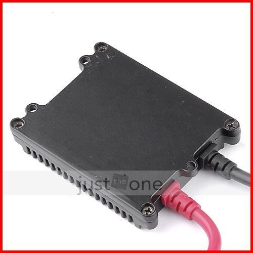 12V 35W Black Ultra Slim AC Ballasts Replacement Digital A/C Universal 4 HID Single & Bi-xenon
