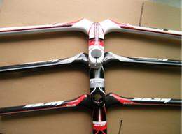 Wholesale Integrated Mtb Carbon - NESS 3K Full Fiber Carbon MTB Bike Handlebar Integrated Stem 31.8*90 100 110 120mm*580 600 620mm