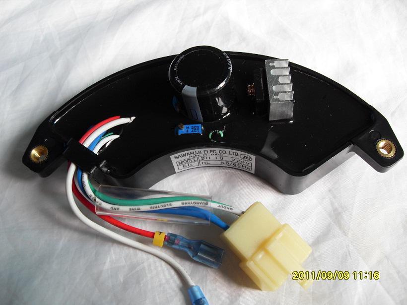 YAMADA 5-7KW AVR per HONDA, SAWAFUJI, CINA Generator, HONDA QUALITY AVR