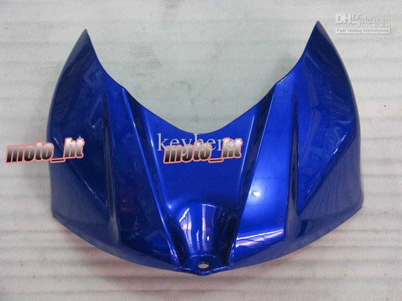 Blue White ABS Fairing Kit voor GSX-R1000 2007 2008 K7 GSXR 1000 GSXR1000 07 08 Carrosserie + Windscherm