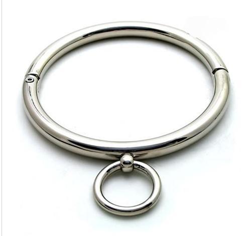 Partihandel -Hot! Rolled Slave Collar Slave Neck Ring / Offentlig krage nummer TY-0231