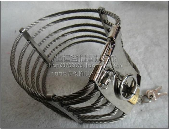 Wholesale  - 暑い!真鍮ロックジョイントと鋼線の奴隷の襟のクレオパトラの襟アン姿勢襟