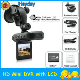 "Wholesale Hd Camera Av Out - Digital 270 degree rotation 2.5"" LCD TFT screen AV-OUT HD car Vehicle Video Recorder camera DVR HDMI"