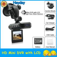 "Wholesale Portable Lcd Dvr - portable car IR night vision vehicle DVR camera HD recorder 270 degree rotation 2.5"" LCD TFT screen"