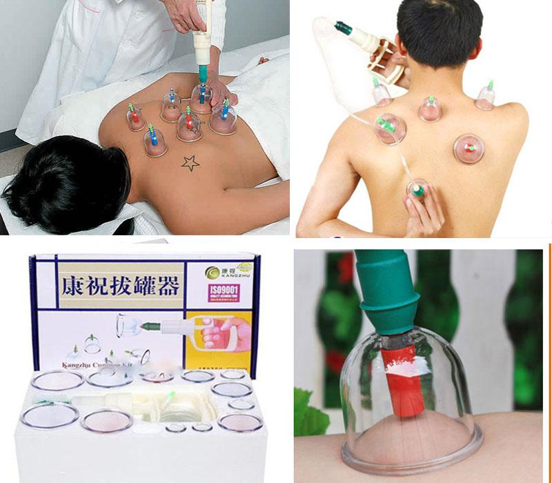 At Home Cupping Therapy: 2019 Kangzhu Chinese Fire Cupping Therapy DIY Acupuncture