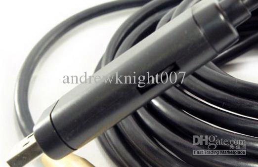 10 m de câble USB Tuyau de drain étanche Plumb Inspection Serpent LED Caméra couleur Livraison gratuite