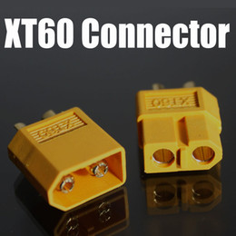 lipo connectors NZ - free shipping XT60 rc lipo battery connector bullet Connector wholesales
