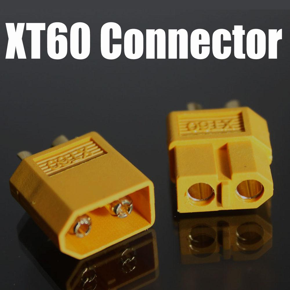 free shipping XT60 rc lipo battery connector bullet Connector wholesales