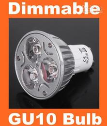 Wholesale Light Bulb 24v 3w - Hot selling !! 9W 3*3W 85 - 265V GU10 Warm cool White LED dimmable Light Lamp Bulb Spotlight