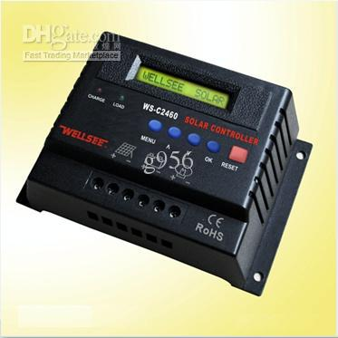 12v 24v 40a Lcd Display Solar Charge Discharge Controller