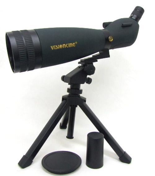 Free shipping Visionking 30-90x90 Waterproof Bak4 Spotting Scope Waterproof Fogproof Nitrogen Filled for birdwatching with tripod