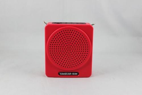 Marka Hot Taktar E180M Przenośny Wiszący Waist Wzmacniacz U Disk TF Card MP3 Odtwarzanie Czarny Bezpłatny statek