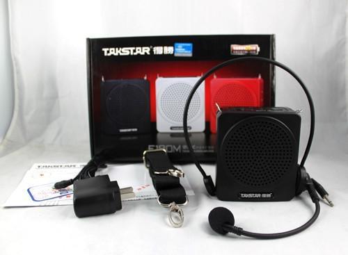 Марка горячая TAKSTAR E180m портативный висит талии усилитель U диск TF карта Mp3 воспроизведения черный свободный корабль