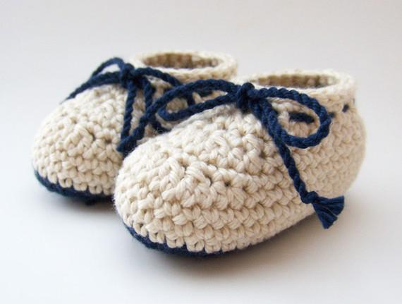 2018 Crochet Baby Boy Shoes Infant Booties Cotton Lace Up Multi ...