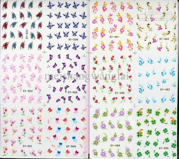 Stickers nail art images nail art and nail design ideas mix nail art sticker decal 6in1 nail patch water slide temporary mix nail art sticker decal prinsesfo Choice Image