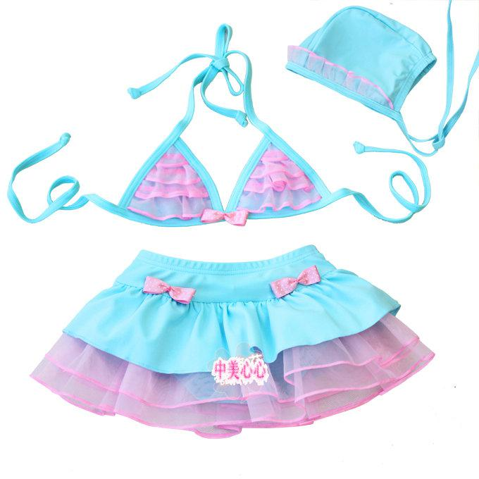 2018 Baby Girl Swimwear Beach Clothes Children's Bikini ...