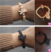 Wholesale Shamballa Pieces - Hand piece,GOODWOOD, good wood shamballa style bracelet, 10mm ball beads.