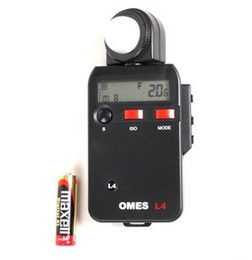 """Wholesale Tester For Camera - OMES L4 Light Meter 2.0"""" LCD Digital Flash Light Meter Tester For DSLR SLR Camera (1xAA)"""