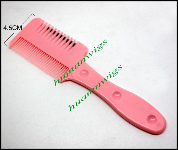best selling Cheapest!! Tinkle Hair Cutter - Razor Comb Hair Trimmer,Razor Hair Comb for Home Used, 3 Colors Mixed,Free Shipping,6pcs lot
