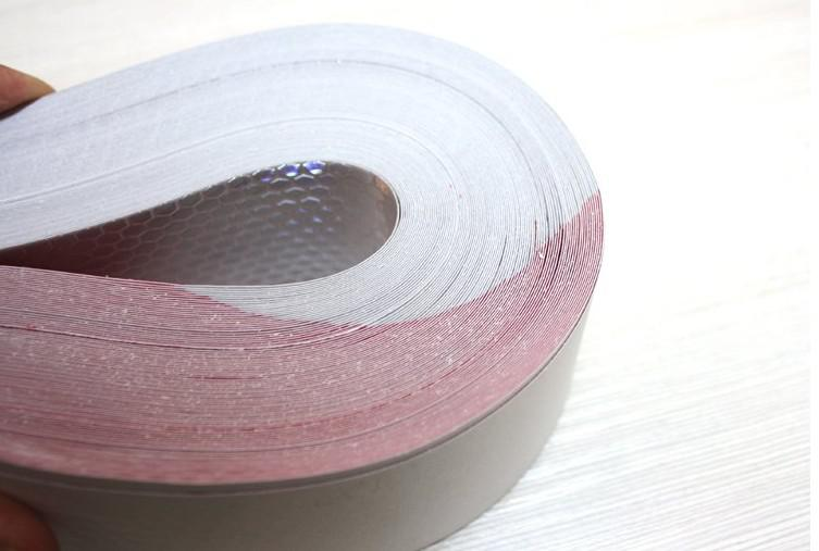 Cheap Wholesale Red/White 30*5cm Reflective Warning Tape Car Reflective Strip From China