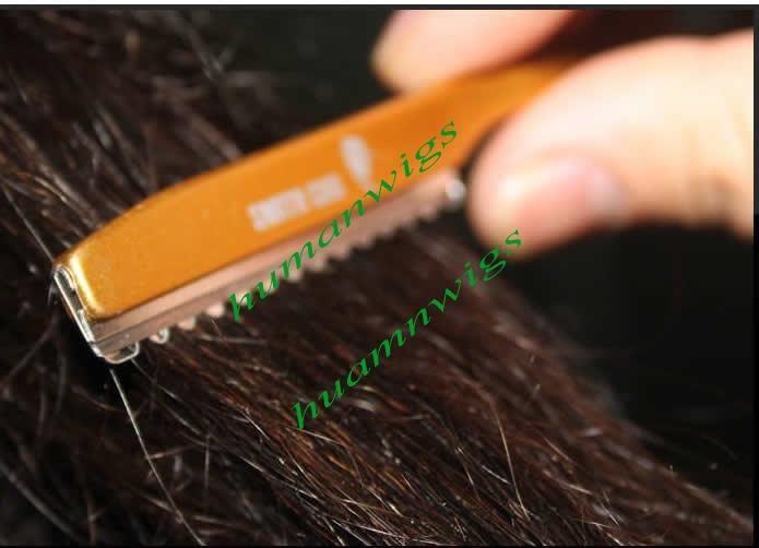 Profesyonel Kuaför Makas, Kuaförlük Razor, Saç Kesme Jilet, Saç Şekillendirici Jilet, 20 adet, 5 renk karışık