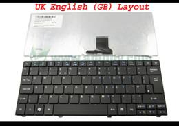 Wholesale Aspire One 751h - New Laptop keyboard for Acer Aspire one 751 751H 721 3935 3936 ZA3 1810T Black UK (GB) Version - 9Z.N3C82.10U