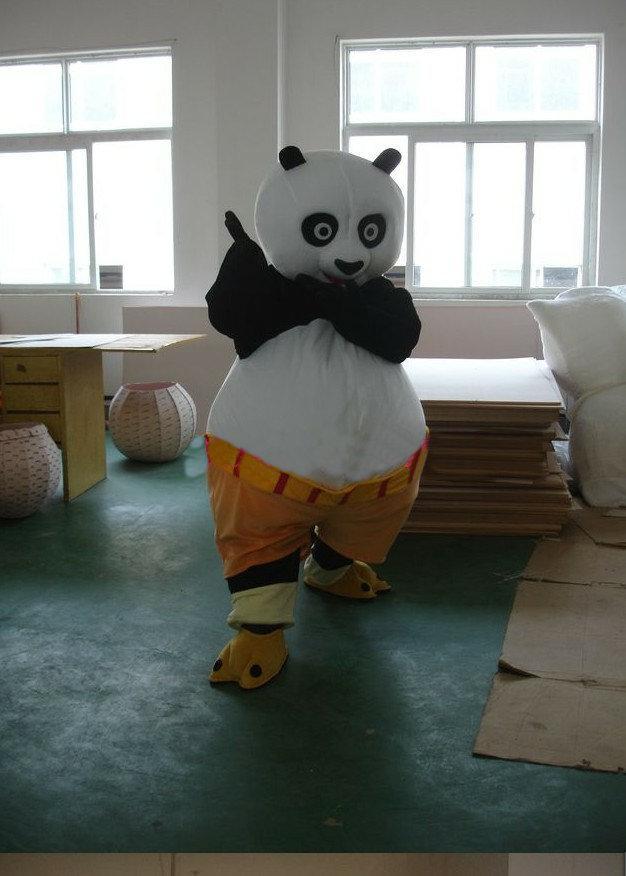mascot costume kung fu panda cartoon character costume adult size wholesale and retail - Kung Fu Panda Halloween