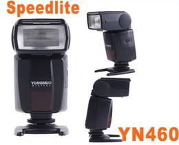 Wholesale Yongnuo Light - YONGNUO YN460 YN-460 LED Video Lights Flash Speedlite for Canon Nikon Pentax Olympus LED Flash Light