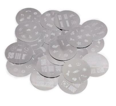 120 Designs Nail Art Stamping stamp Metal Plate Stainless Steel Image printing design Plate